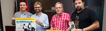 """Presentación de \""""El Festivalaco\"""" de Alcalá del Júcar"""