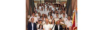 La Agrupación Musical Mahoreña fue homenajeada en la Diputación Provincial