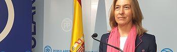 Ana Guarinos, presidenta del PP de Guadalajara.