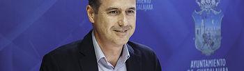 Primera rueda de prensa de Alberto Rojo como Alcalde