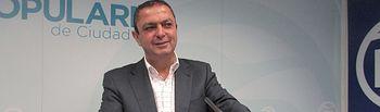José Alberto Martín-Toledano, coordinador de campaña del PP de Ciudad Real y candidato al Congreso de los Diputados