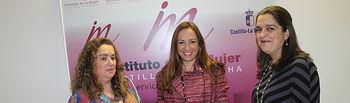 Encuentro con la presidenta de FADEMUR Albacete, Monserrat Molina, en la Casa Perona, enmarcada dentro de las actividades institucionales en relación a la mujer rural