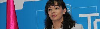Claudia Alonso, portavoz del grupo municipal PP de Toledo.