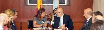 AEMET convenio Galicia. Foto: Ministerio de Agricultura, Alimentación y Medio Ambiente