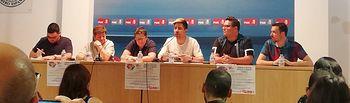 Jornada LGTBI que ha celebrado el PSOE regional en Albacete.