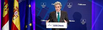 Leandro Esteban. Rueda de prensa Consejo Gobierno 201114 IV. Foto: JCCM.