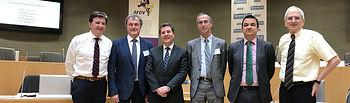 El presidente de Castilla-La Mancha, Emiliano García-Page, asiste en Estrasburgo (Conseil Regional Grand Est), al plenario de la Asamblea de Regiones Europeas Vitivinícolas (AREV), donde se presentará y votará la candidatura de Castilla-La Mancha a la Presidencia de este organismo.