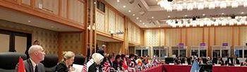 La ministra de Trabajo, Migraciones y Seguridad Social, Magdalena Valerio, ha intervenido en la sesión dedicada a igualdad de género en el encuentro que los Ministros y Ministras de Trabajo y Empleo del G-20 han mantenido en Matsuyama, Japón.