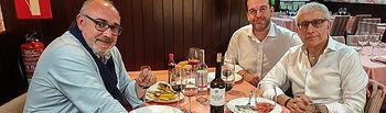 Ángel Ramírez - Manuel Lozano - Antonio Martínez - Academia Gastronomía CLM