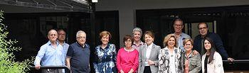 La consejera de Bienestar Social, Aurelia Sánchez, ha visitado  los Centros de Mayores Albacete I y Albacete II.