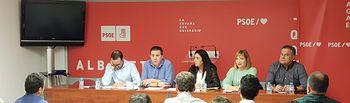 La Comisión Ejecutiva Provincial de Albacete.