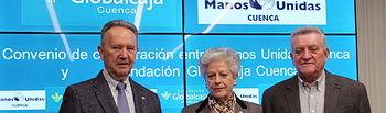 La Fundación Globalcaja-Cuenca firma un acuerdo de colaboración con Manos Unidas para las acciones y actividades a desarrollar en el 2016