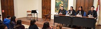 """La música del Dúo """"Belcorde"""" resuena en el Museo del Quijote antes de su gira por Australia y Nueva Zelanda"""