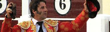 Padilla corta oreja al tercero de la tarde en la corrida de preferia de Albacete.