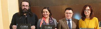 Ana Gómez en la presentación del Cibra 2019.