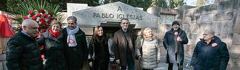 Aniversario del fallecimiento de Pablo Iglesias    Foto Eva Ercolanese.