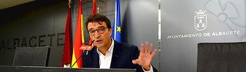 Francisco Javier Mármol 'Catali', concejal del Grupo Municipal Socialistas en el Ayuntamiento de Albacete.