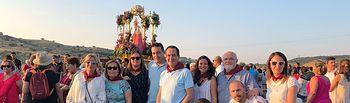 El Gobierno regional participa en la romería de la Virgen de Cortes