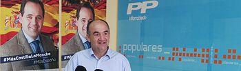 Valentín Bueno, Presidente del PP y concejal en el Ayuntamiento de Villarrobledo.