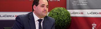 Francisco Núñez, presidente del Partido Popular de Castilla-La Mancha. Foto: Manuel Lozano Garcia / La Cerca