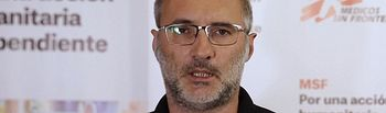 David Noguera - Presidente Médicos Sin Fronteras. Foto: Médicos Sin Fronteras.