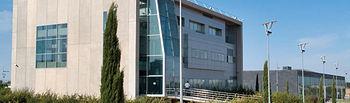 Edificio del Centro de Emprendedores en el Parque Científico y Tecnológico de Castilla-La Mancha, en Albacete.