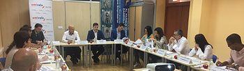 Umivale analiza junto a los empresarios de la Albacete las ausencias laborales por motivos de salud