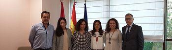 El Gobierno regional aborda con la Asociación de Guías de Castilla-La Mancha sus principales necesidades y proyectos. Foto: JCCM.