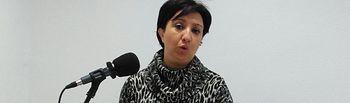La portavoz del Grupo Municipal Socialista en el Ayuntamiento de Socuéllamos, Elena García Zalve.
