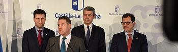 El jefe del Ejecutivo autonómico, Emiliano García-Page, preside el Consejo de Gobierno itinerante. (Fotos: José Ramón Márquez //JCCM).