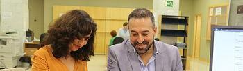 Orlena de Miguel y Antonio de Lamo registro PNL.