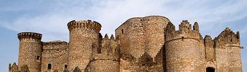 Castillo de Belmonte (Cuenca), enclave de muchas películas y símbolo de una época de la Historia de España.