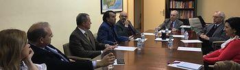 'Ciudadanos recibe el apoyo de la Fundación Campollano a la iniciativa de crear un instituto regional biosanitario'