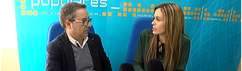 Antonio Matínez y Ana Hernán.