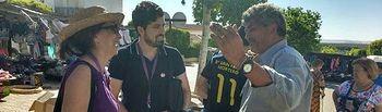 Los miembros de Unidos Podemos han visitado Villalgordo y Balazote