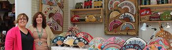 Olmedo visita a los artesanos de Ciudad Real presentes en FARCAMA