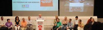 Reunión de la Plataforma en Defensa del Estado de Bienestar (junio 2012)