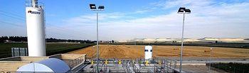 Decantadores. Foto: Ministerio de Agricultura, Alimentación y Medio Ambiente