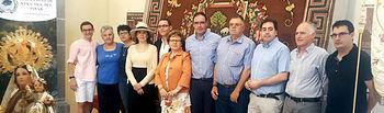 Diputación entrega al pueblo de Cañaveras la alfombra de la Virgen del Pinar una vez restaurada