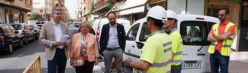 El I Plan de Asfaltado del Ayuntamiento de Albacete ha mejorado el firme de 42 calles de 15 barrios por un importe de más de 300.000 euros.