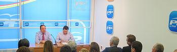 Rueda de prensa de Pedro Sanz