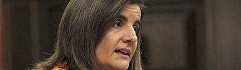 Fátima Báñez en el Congreso (Foto EFE)