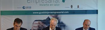 Firma convenio Guadalajara Empresarial