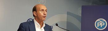 Juan Pablo Sánchez Sánchez-Seco, secretario provincial del PP de Guadalajara.