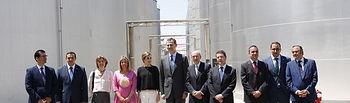 Globalcaja, en la visita real a la Cooperativa Virgen de las Viñas de Tomelloso