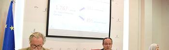 TOLEDO, 22 de julio de 2019.- El consejero de Hacienda y Administraciones Públicas, Juan Alfonso Ruiz Molina, informa, en una rueda de prensa en la Consejería, sobre la Oferta de Empleo Público de Administración General de 2017 y 2018. (Fotos: José Ramón Márquez // JCCM).