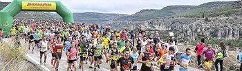 Media Maratón Cuenca 2019 (SALIDA ). Foto: NESTOR DE LA VEGA ROBAYNA
