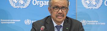 El director general de la Organización Mundial de la Salud (OMS), Tedros Adhanom Ghebreyesus. Foto: OMS