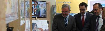El delegado del Gobierno en Castilla-La Mancha ha asistido a la inauguración de la I Convocatoria de Mail Art de CORREOS en Toledo, una exposición que recoge además obras de niños y jóvenes de la Federación de Autismo de Castilla-La Mancha