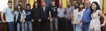Entrega de los premios de los concursos Creajoven 2011